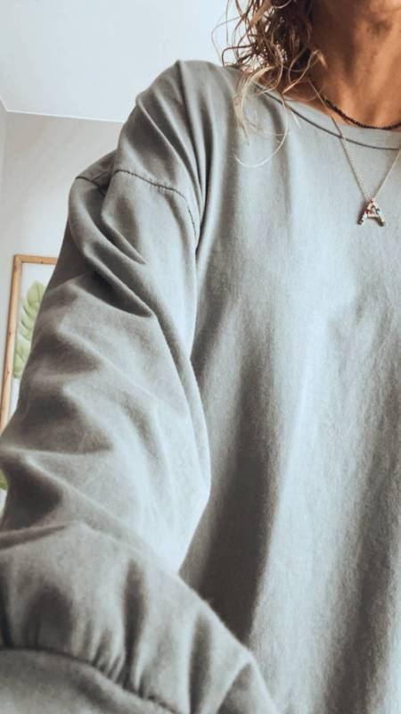 CAMISETA BOYFRIEND GRIS